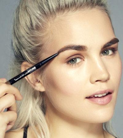 Как правильно красить брови карандашом для начинающих